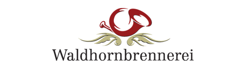 Waldhornbrennerei-Logo